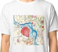 Hearts and Trees Remember the River that Fed Them Classic T-Shirt