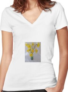Leap year Women's Fitted V-Neck T-Shirt