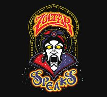 Zoltar Speaks - Speaks Yellow Variant Womens Fitted T-Shirt
