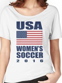 USA Women's Soccer 2016 Women's Relaxed Fit T-Shirt