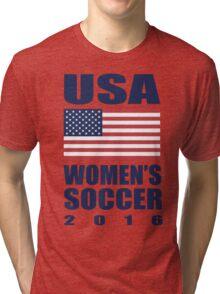 USA Women's Soccer 2016 Tri-blend T-Shirt