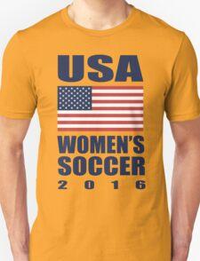 USA Women's Soccer 2016 Unisex T-Shirt