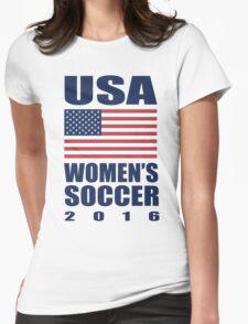 USA Women's Soccer 2016 Womens Fitted T-Shirt