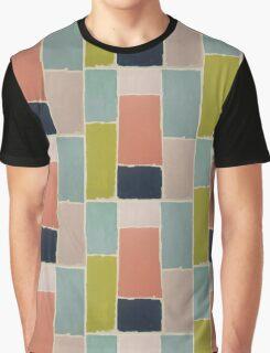 Color blocks Graphic T-Shirt