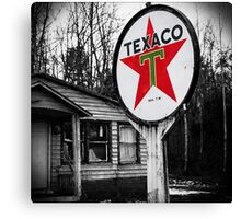 trust texaco Canvas Print