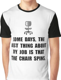 Job Chair Spins Graphic T-Shirt