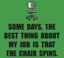 Job Chair Spins One Piece - Short Sleeve