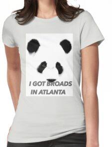 Panda - Desiigner  Womens Fitted T-Shirt