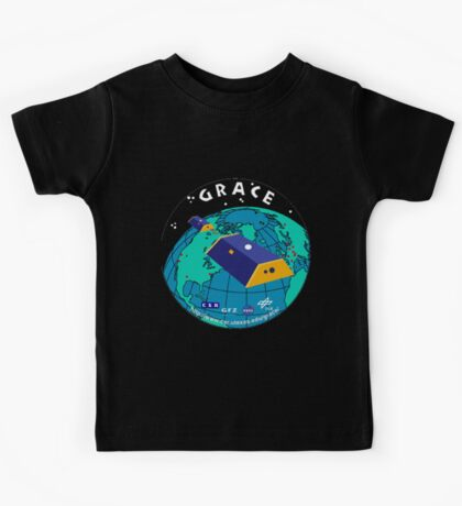 Gravity Recovery and Climate Experiment Logo Kids Tee