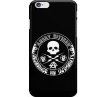 Angry Citizen iPhone Case/Skin
