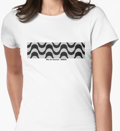 Rio de Janeiro - Brasil (Copacabana) Womens Fitted T-Shirt