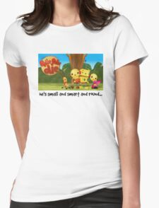 Rolie Polie Olie Womens Fitted T-Shirt
