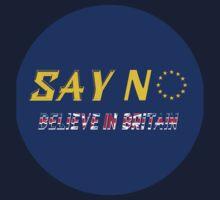 Believe in Britain - Circular Logo Kids Tee