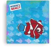 Where's Nemo? Canvas Print