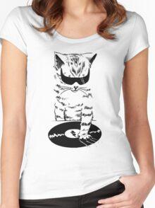 DJ Scratch Women's Fitted Scoop T-Shirt