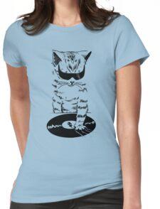 DJ Scratch Womens Fitted T-Shirt