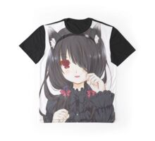 Anime Cat Woman Graphic T-Shirt