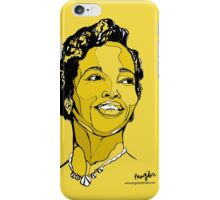 Dorothy Ashby harp player, singer, composer iPhone Case/Skin