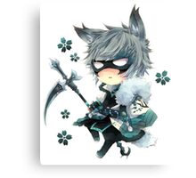 Cute ANime In Mask Canvas Print