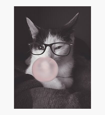 Hipster Jack Photographic Print
