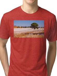 Tree in Field  Tri-blend T-Shirt