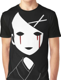 EMO- Creepy Mask Graphic T-Shirt