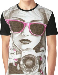 PHOTOGRAPHER GIRL Graphic T-Shirt