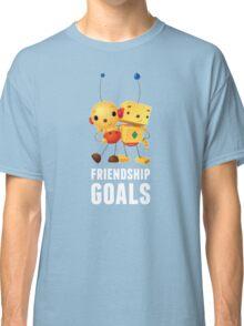 Friendship Goals in white Classic T-Shirt