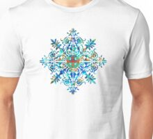 Colorful Pattern Art - Color Fusion Design 5 By Sharon Cummings Unisex T-Shirt
