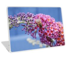 The Bee and The Buddleia  Laptop Skin