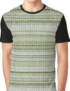 Cactus Garden Knit 3 Graphic T-Shirt