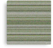 Cactus Garden Knit 3 Canvas Print