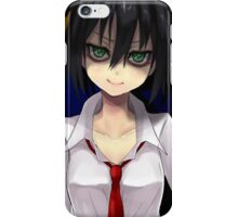 I'll Become an Enigma iPhone Case/Skin