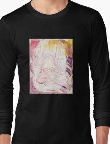 Mozart - Lacrimosa, Requiem Mass in D minor (K. 626)- Original oil painting Long Sleeve T-Shirt