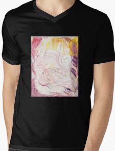 Mozart - Lacrimosa, Requiem Mass in D minor (K. 626)- Original oil painting Mens V-Neck T-Shirt