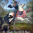 St. Donald The ISIS Slayer by EyeMagined