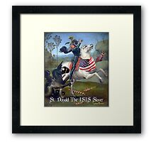 St. Donald The ISIS Slayer Framed Print