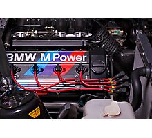BMW M Power Photographic Print