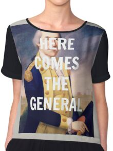 Here Comes the General - George Washington Chiffon Top