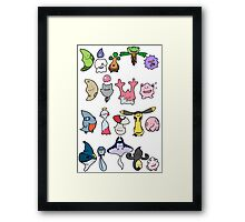 Ditto! Time to Transform! Framed Print