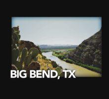 Big Bend Landscape 5 One Piece - Short Sleeve