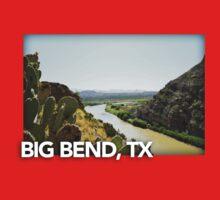 Big Bend Landscape 5 Kids Tee