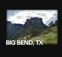 Big Bend Landscape 6 Baby Tee