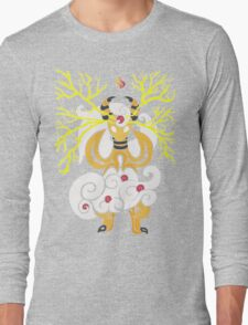 Tribalish Mega Ampharos - Eye of the Storm Long Sleeve T-Shirt