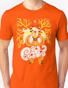 Tribalish Mega Ampharos - Eye of the Storm Unisex T-Shirt