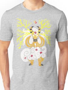 Tribalish Mega Ampharos - Eye of the Storm Unisex T-Shirt