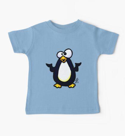 Pondering Penguin Baby Tee