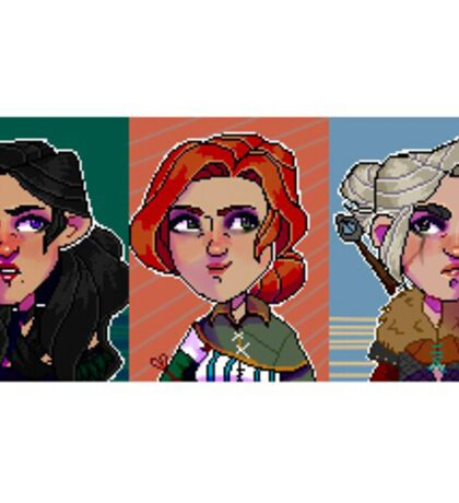 The Witcher Pixel Sticker