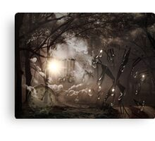 Time waits for no man Canvas Print