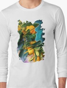 Small fruit tree in outer space Long Sleeve T-Shirt